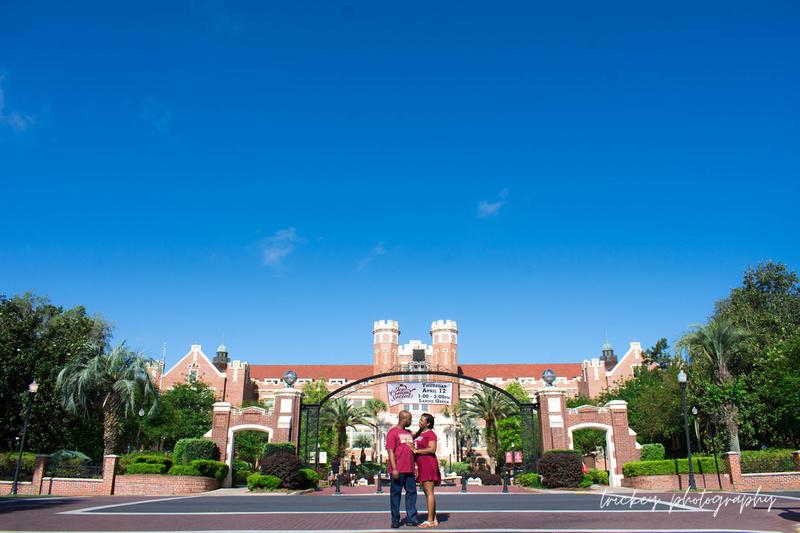 Kentrice & Kevin | Engagement | FSU Tallahassee | April 2018