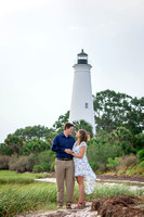 Chelsee & Ryan | Engagement | St. Mark's Lighthouse | June 2018