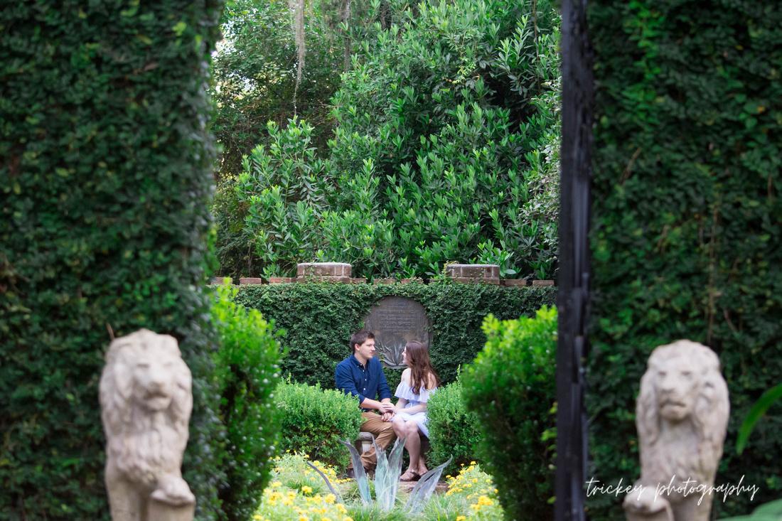 Lydia & AJ | Engagement | Maclay Gardens | August 2018
